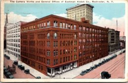 New York Rochester Camera Works & General Offices Of Eastman Kodak Company 1928 - Rochester