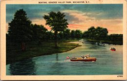 New York Rochester Boating At Genesee Valley Park - Rochester