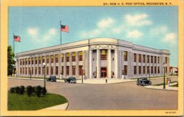 New York Rochester New Post Office Curteich - Rochester