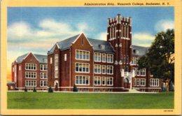 New York Rochester Administration Building Nazareth College Curteich - Rochester