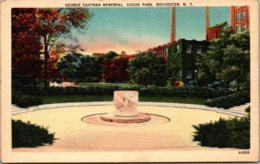 New York Rochester Kodak Park George Eastman Memorial - Rochester