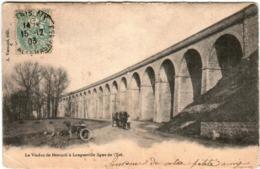 3TS 34 CPA - LE VIADUC DE BESNARD A LONGUEVILLE LIGNE DE L'EST - France