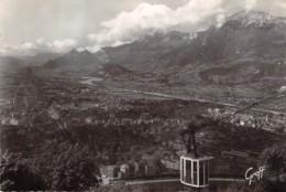 GRENOBLE Le Teleferique Surplombant La  Ville 20(scan Recto-verso) MA1857 - Grenoble