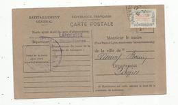 Cp , 79 , LARGEASSE , Deux Sèvres , Aprés Guerre 1939-45, Carte De Ravitaillement ,1946 , Voir Timbre ,2 Scans - France