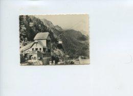 Piece D Antan - Photographie - Les Pyrenees Artouste - Station Inferieure Du Telepherique - Lieux