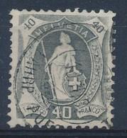 HELVETIA - Mi Nr 77 A - Gest./obl. - Cote 20,00 € - (ref. 913) - Gebraucht