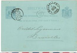 14454 - Entier Avec Repiquage  Pour La Belgique - Period 1891-1948 (Wilhelmina)
