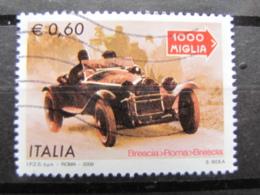 *ITALIA* USATI 2009 - MILLE MIGLIA - SASSONE 3090 - LUSSO/FIOR DI STAMPA - 6. 1946-.. Repubblica