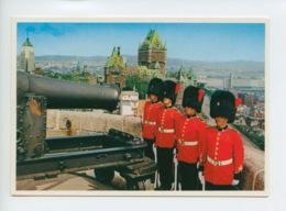 Piece D Antan - Amerique - Canada - Quebec - Soldats Du 22Eme Regiment A La Citadelle - Québec - La Citadelle