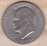 Etats Unis .1 Dollar 1971 D Denvers. Eisenhower - Emissioni Federali