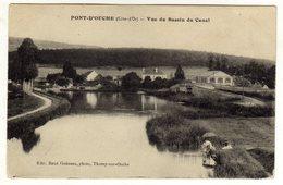 Cpa PONT D ' OUCHE Vue Du Bassin Du Canal - Non Classés