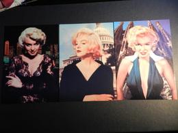 19890) MARILYN MONROE LOTTO DI 6 CARTOLINE DELLA STESSA SERIE FORMATO GRANDE - Donne Celebri