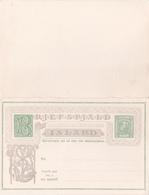Entier Postal Stationery - Island  - Double Avec Réponse Payée - Entiers Postaux