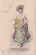 Raphael Tuck Et Fils. Série 334. Gracieux Message - Illustratoren & Fotografen
