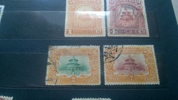 China 1909 Empire . China 1923 Repubic - Used Stamps