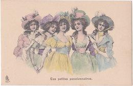 Raphael Tuck Et Fils. Série 334. Les Petites Pensionnaires - Illustratori & Fotografie