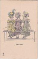 Raphael Tuck Et Fils. Série 334. Boudeuses - Illustratoren & Fotografen