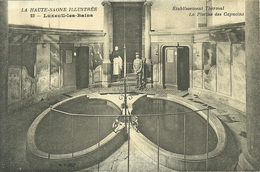 70  LUXEUIL LES BAINS - ETABLISSEMENT THERMAL - LA PISCINE DES CAPUCINS (ref 5326) - Luxeuil Les Bains