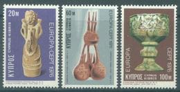 CYPRUS - 1976 - MNH/*** LUXE - EUROPA   - Mi 435 437 Yv 429 431 - Lot 19024 - Chypre (République)