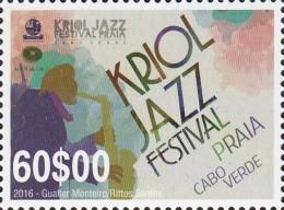 Cape Verde 2016 Mih. 1039 Music. Jazz Festival MNH ** - Kap Verde