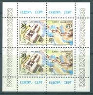 TURQUIE - 1982 - MNH/*** LUXE - EUROPA   - Mi BLOCK 21 Yv BLOC 23 - Lot 19025 - 1921-... République