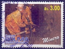 Used Bolivia 2012, Professions 1V. - Bolivia