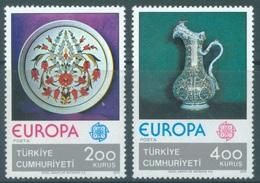 TURQUIE- 1976 - MNH/*** LUXE - EUROPA   - Mi 2385 2386 Yv 2155 2156 - Lot 19026 - 1921-... République