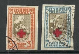 Estland Estonia 1921 Michel 29 - 30 B O - Estonia