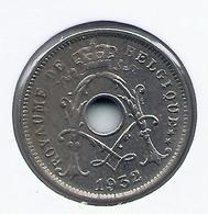 RARITEIT * 5 Cent 1932 Frans * 2 ZIJDEN DUBBEL GESLAGEN * Met STER * Nr 5052 - 03. 5 Céntimos