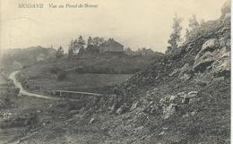 MODAVE : Vue Du Fond De Bonne - RARE CPA - Courrier De 1925 - Modave