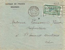 143 Mercon 45 C. Vert De Bourges 2-6-1924 - France