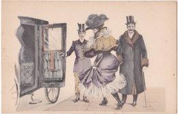 Illustrateur. Belle Epoque. Danseuse Et Galant (5) - Illustratori & Fotografie