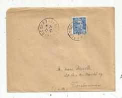 Lettre , 1947 , FOIRE DE BORDEAUX , GIRONDE , 2 SCANS - 1921-1960: Période Moderne