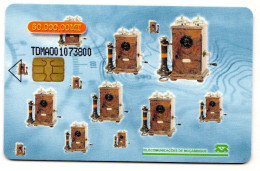 MOZANBIQUE  TDMAO OLD TELEPHONE 5 - Moçambique