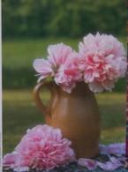 Petit Calendrier De Poche 1990 Fleur Pot Pivoine - Calendriers