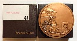 GIAPPONE  Hirohito Imperatore (1926-1989)  Medaglia Le Chrysantheme AE Ø 75 In Scatola - Giappone