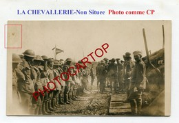 La CHEVALLERIE-Prisonniers Anglais-Position Allemande-Avril 1918-PHOTO NON SITUEE All.-Guerre 14-18-1WK-France-62-??-Mil - Croisilles