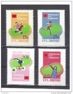 OST1309 ALBANIEN 1984  MICHL 2238/41 Postfrisch SIEHE ABBILDUNG - Albanien