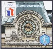 Bloc FFAP N°6 De 2012 Neuf (85ème Congrès Paris 2012 - FFAP