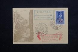 ALGÉRIE - Carte De La Journée Du Timbre De Constantine En 1942 , Secours Nationale - L 23773 - Algerien (1924-1962)