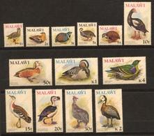 Malawi, Yvert 229/241, Scott 233/245, MNH - Malawi (1964-...)