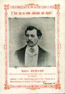 N°70807 Très Rare Cpa Le Havre -Jules Durand  Secrétaire Syndicat  Charbonniers Condamé à Mort- - Syndicats