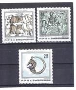 ALB08  ALBANIEN 1989  MICHL  2388/90 ** Postfrisch SIEHE ABBILDUNG - Albanien