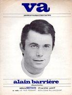 PARTITION ALAIN BARRIERE - VA -1967 - EXC ETAT - - Autres