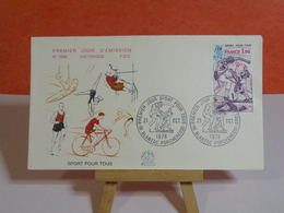 Sport Pour Tous - 16 Blanzac Porcheresse - 21.10.1978 FDC 1er Jour N°1099 - Coté 1,80€ - FDC