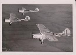 AUSTER T7  16 * 12 CM AUSTER AIRCRAFT ARMY AOP Squadrons 77 Serving As The Auster T.7  Auster Model Q - Aviación