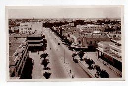 - CPSM MEKNÈS (Maroc) - Avenue Mezergues - Edition La Cigogne 744 - - Meknes