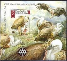 Vultures Birds  - Bulgaria / Bulgarie  2010 - Block MNH** - Vögel