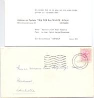 Geboortekaartje Carte De Naissance - Katleen Van Der Bauhede - Drongen - Torhout 1969 - Naissance & Baptême