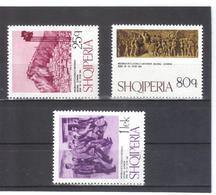 ALB367 ALBANIEN 1974  MICHL  1738/40 ** Postfrisch SIEHE ABBILDUNG - Albanien